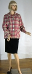 Cute Vintage 40s Pink & Gray 49er Jacket 03.jpg