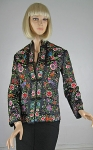 Heavily Embroidered Vintage 70s Chinese Jacket