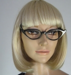 Star Accented Vintage 60s Eye Glass Frames