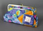 Op Art Vintage 60s Cosmetic Bag