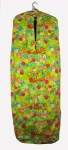 Neon Flower Power Vintage 60s Garment Bag