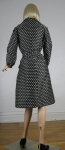 Cute Vintage 70s Abe Schrader Novelty Club Print Woven Coat 05.jpg